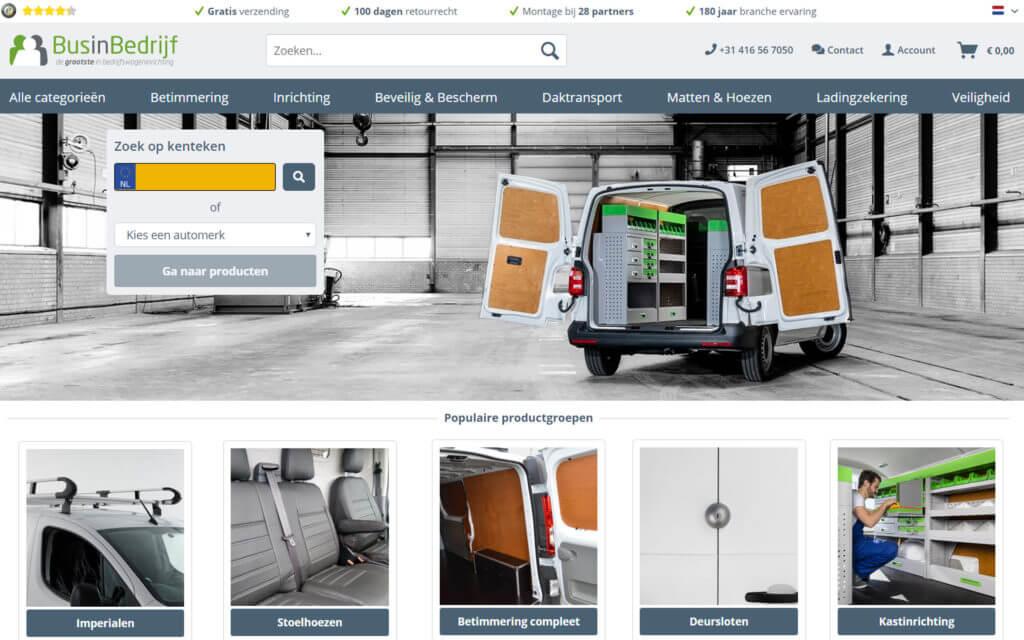 Webshop BusinBedrijf