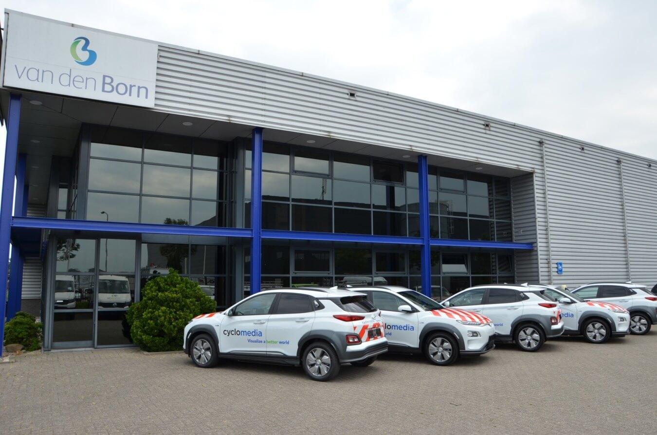 Cyclomedia bedrijfswageninrichting Hyundai Kona