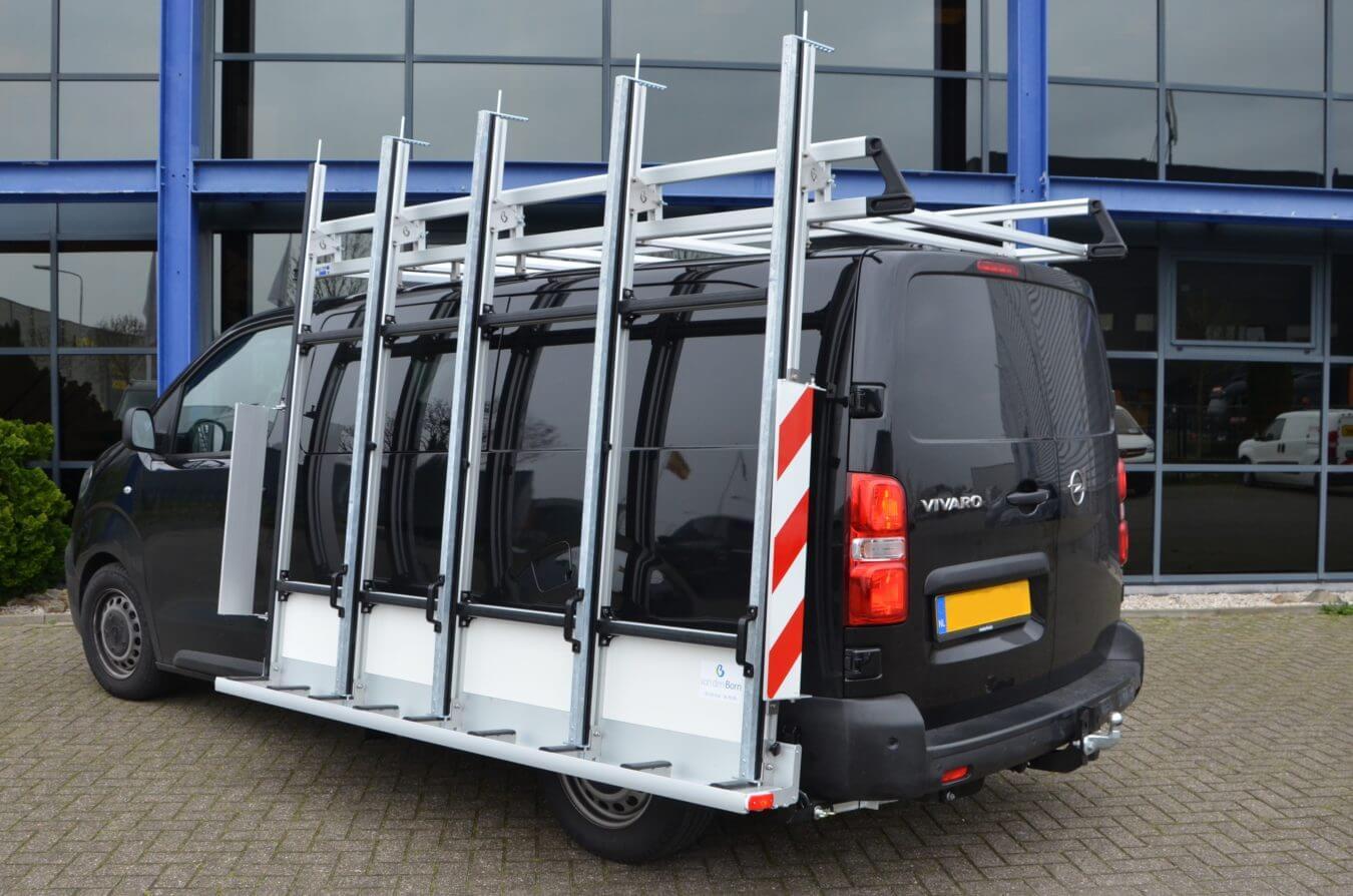 Opel bedrijfswagens euroborn glasrasteel vivaro