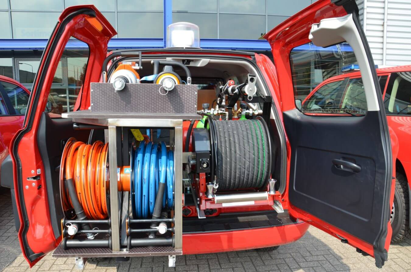 Brandweer Nederland bedrijfswageninrichting