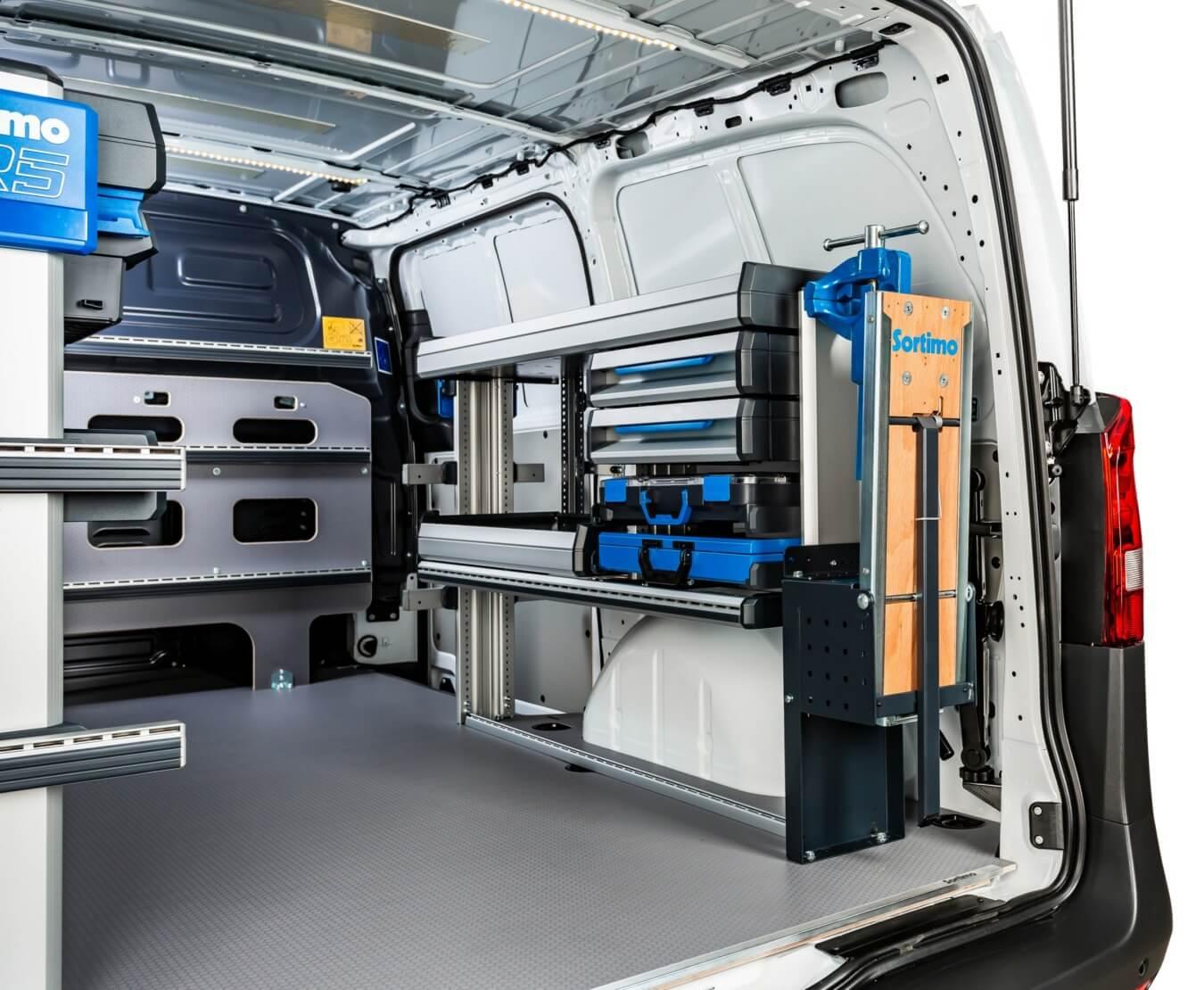 Sortimo SR5 bedrijfswageninrichting