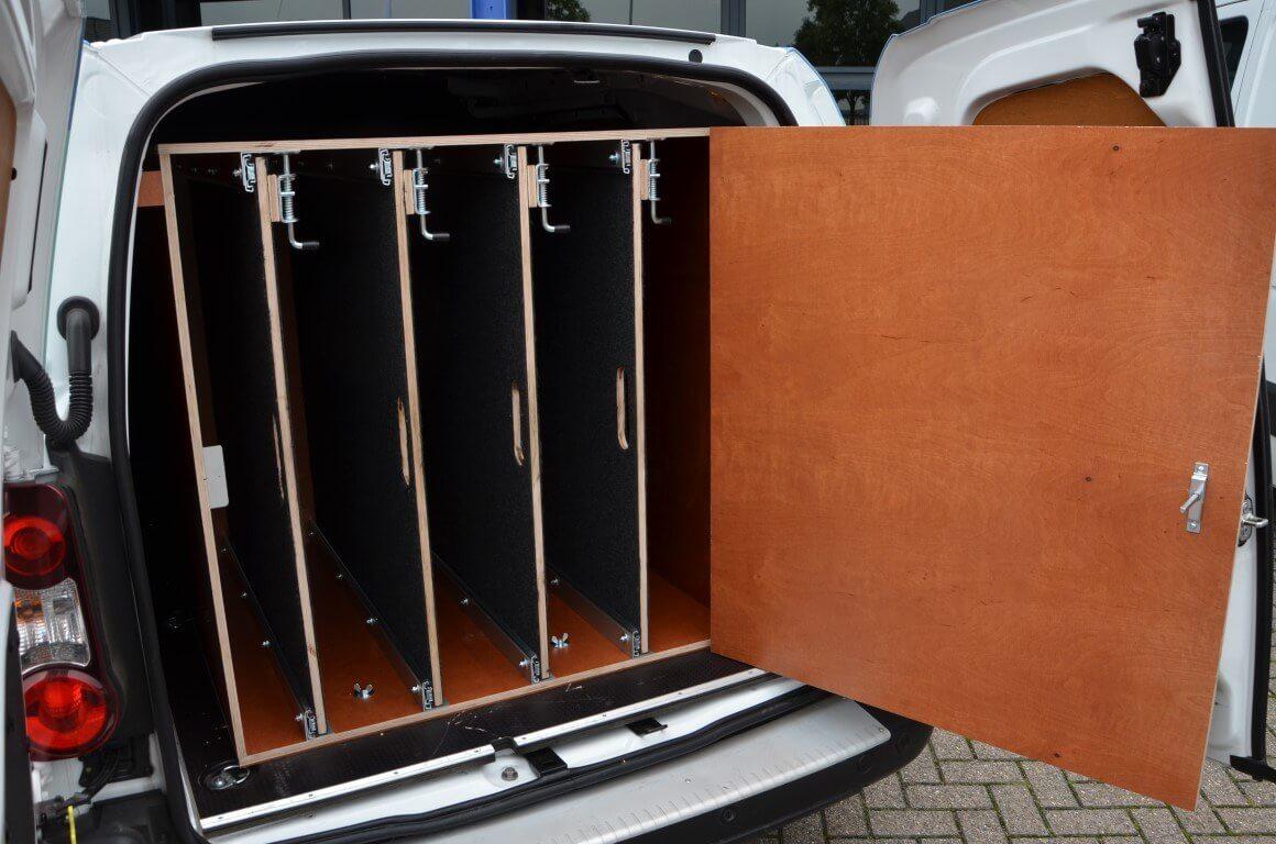 Peugeot bedrijfswagens sleutelkast inrichting