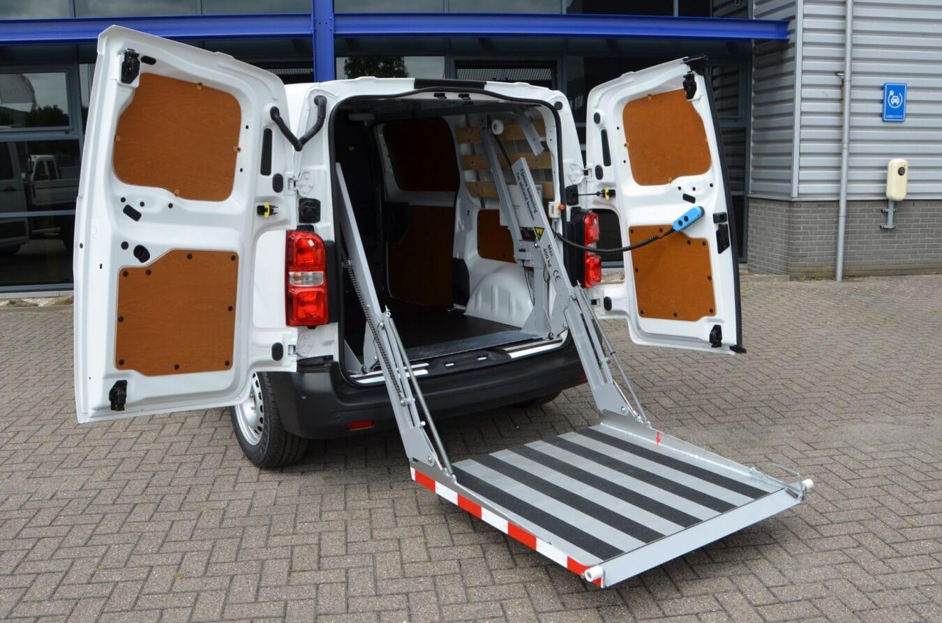 easyloader laadklep op bestelwagen