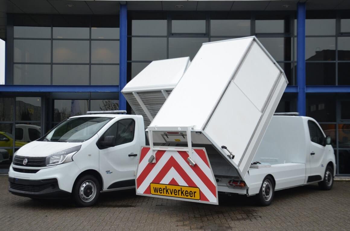 Fiat bedrijfswagens Talento Ergo veegvuilkipper