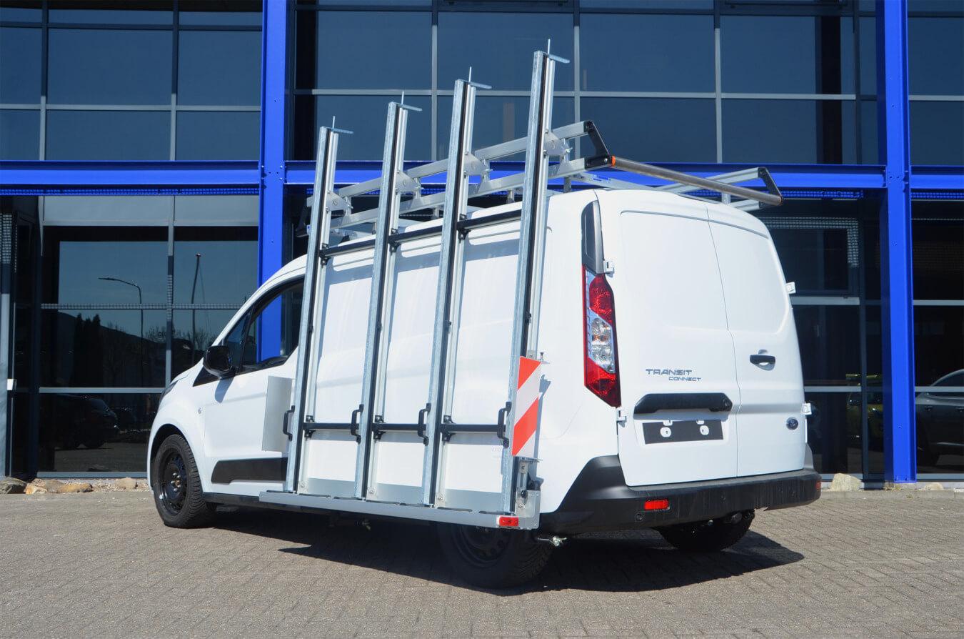 Ford Transit Connect met EUROBORN glasrasteel
