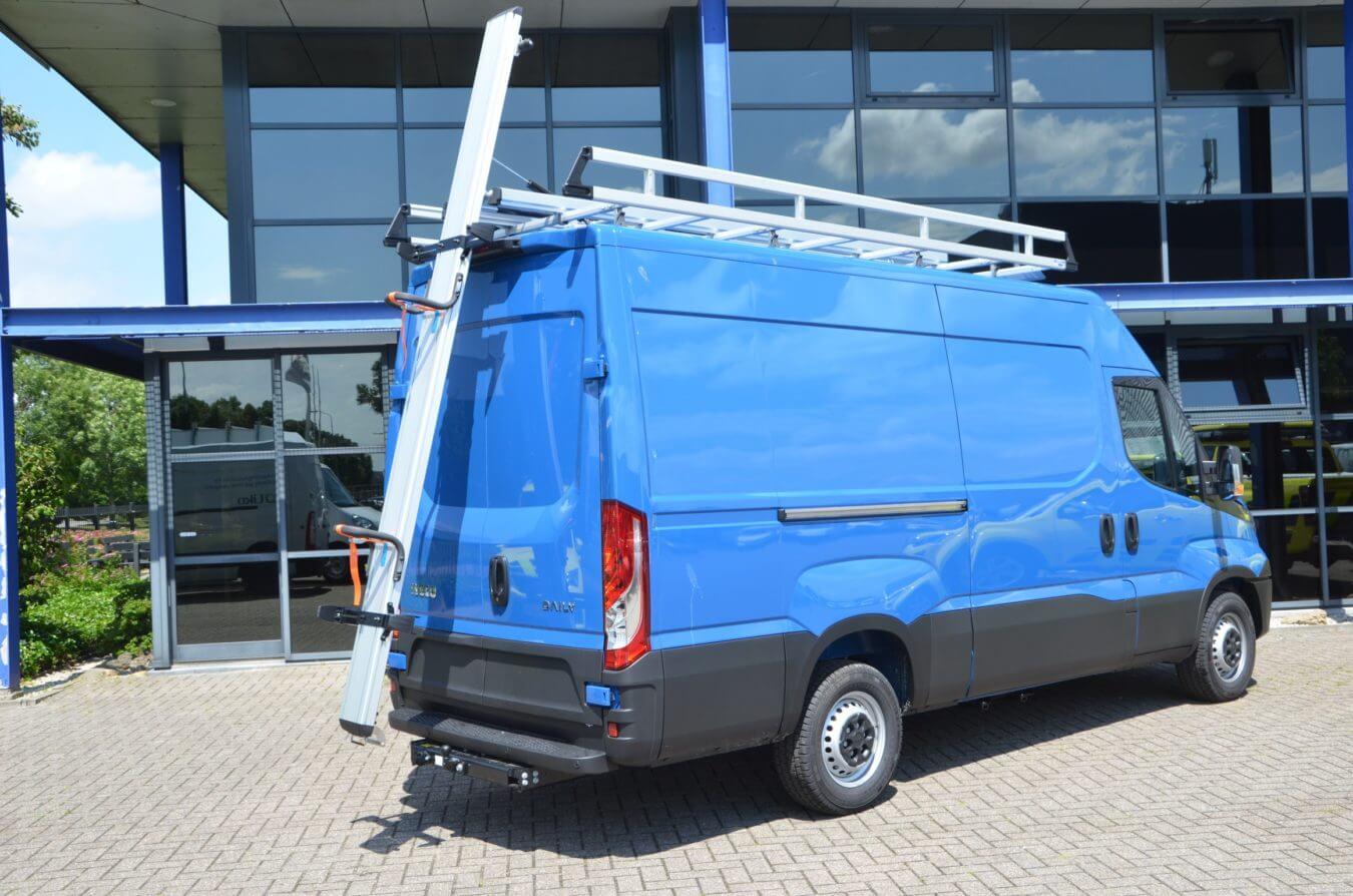 Iveco bedrijfswagens gentili ladderopbergsysteem