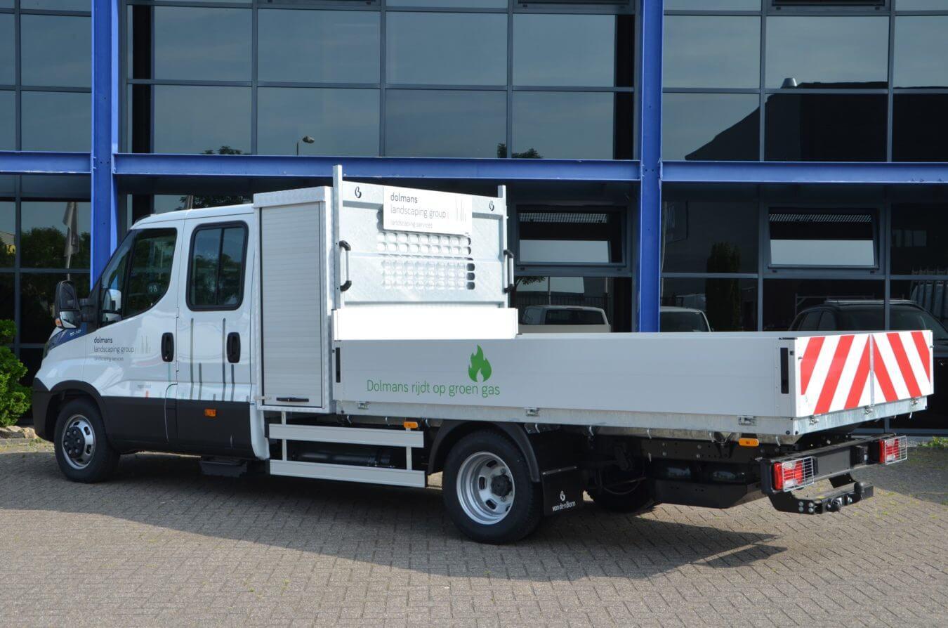 ERGO open laadbak op Iveco bedrijfswagens