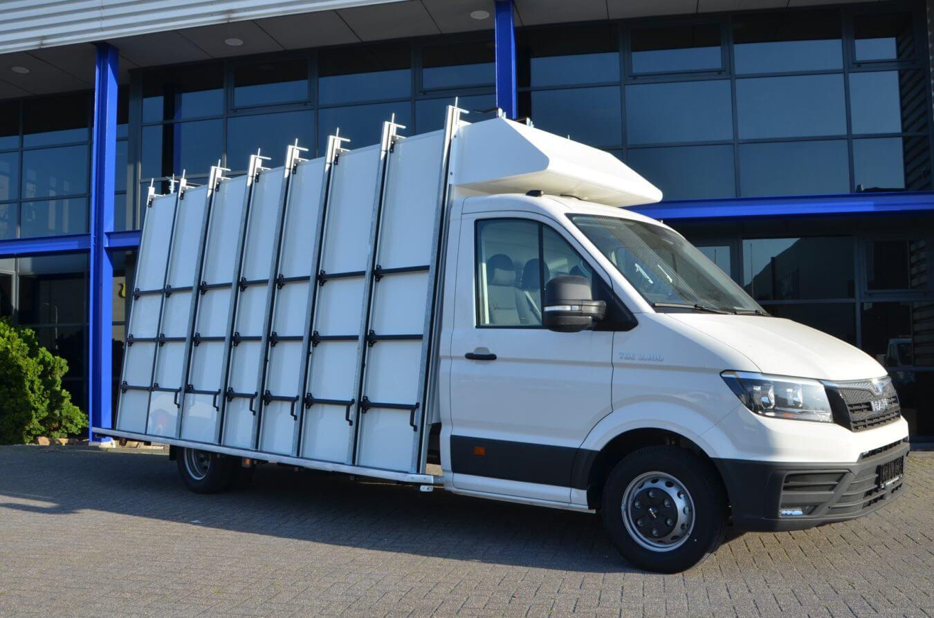 MAN bedrijfswagens euroborn glasrasteel