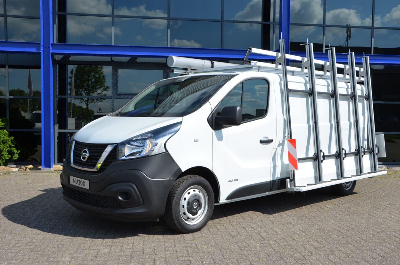 Nissan bedrijfswagens NV300 euroborn glasrasteel