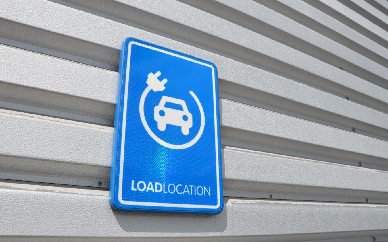 laad locatie elektrische voertuigen