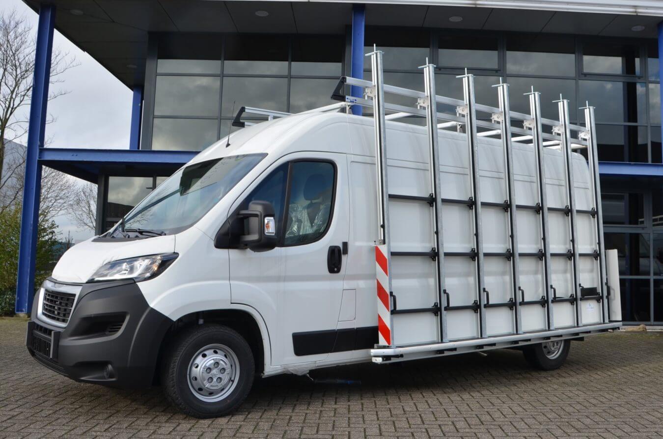 Peugeot bedrijfswagens boxer euroborn glasrasteel