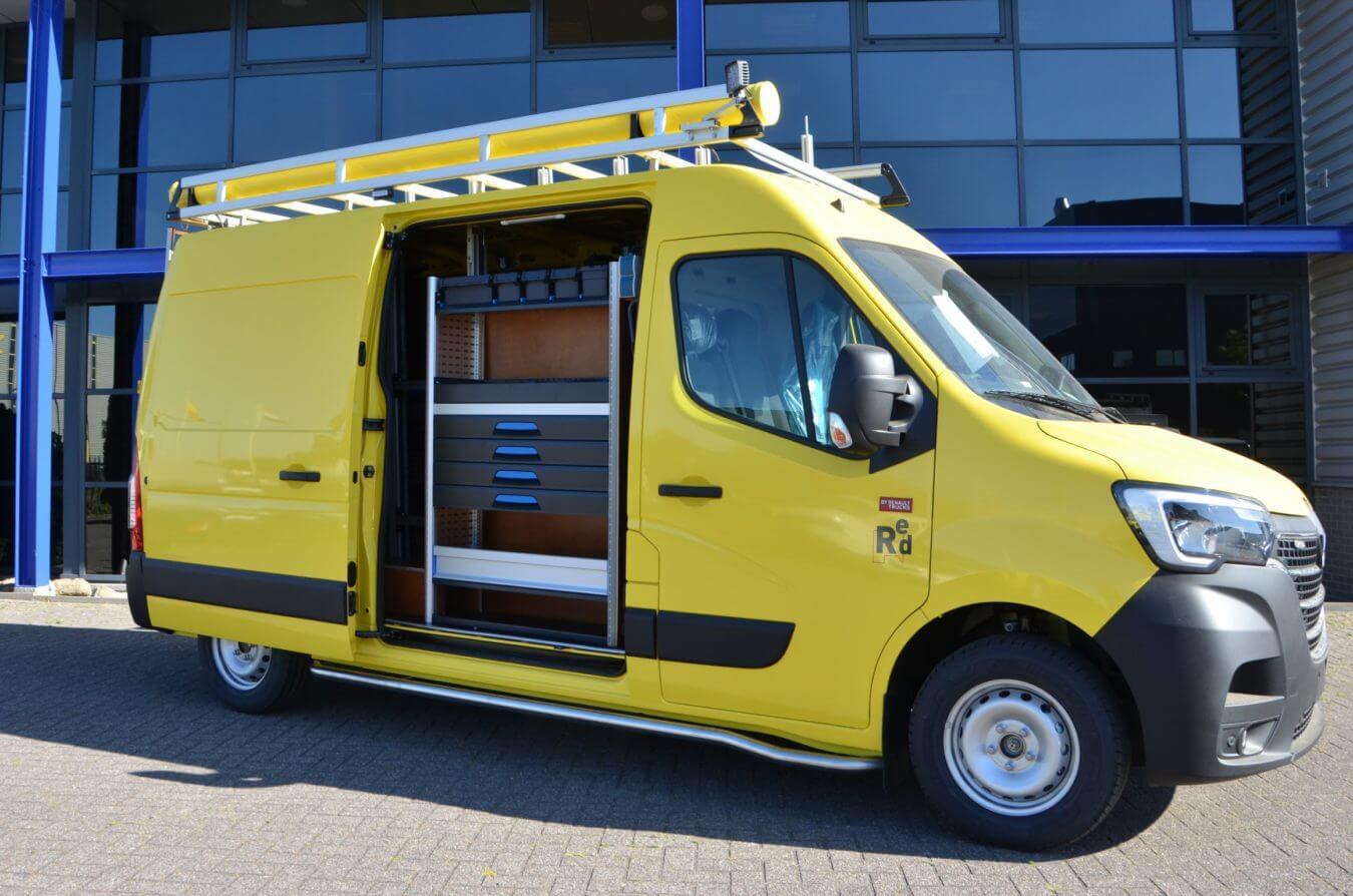 Renault bedrijfswagens sortimo inrichting