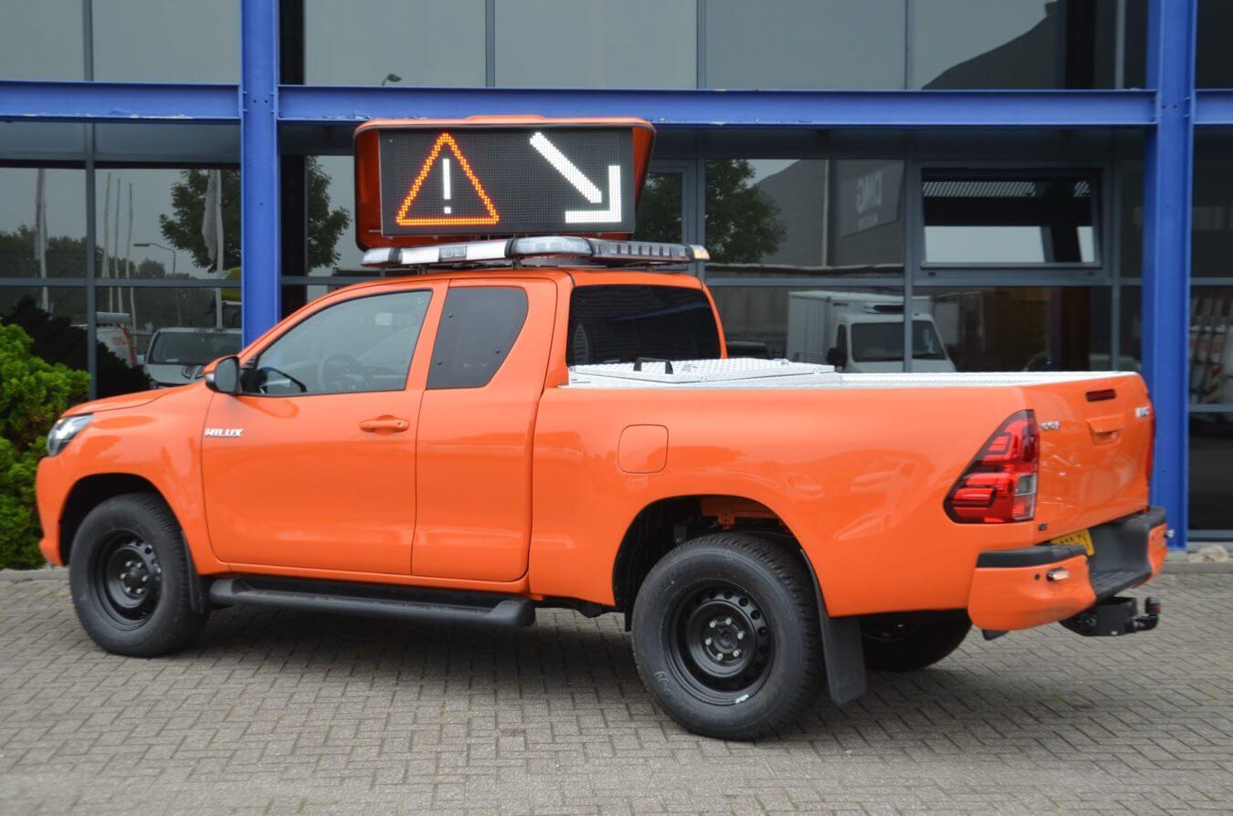 Toyota bedrijfswagens tactic op gemeente voertuig