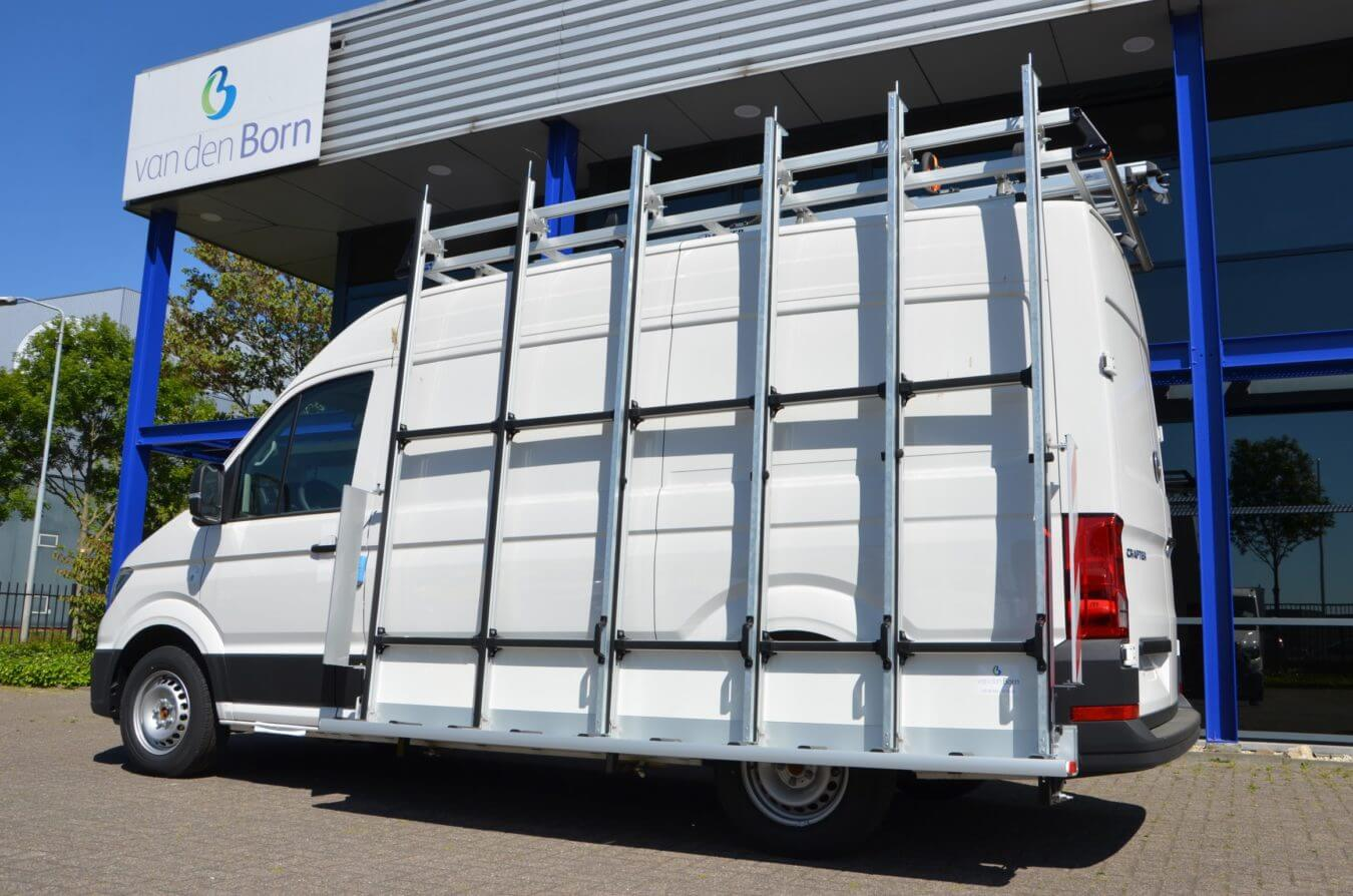 Volkswagen bedrijfswagens crafter euroborn glasrasteel demo auto's