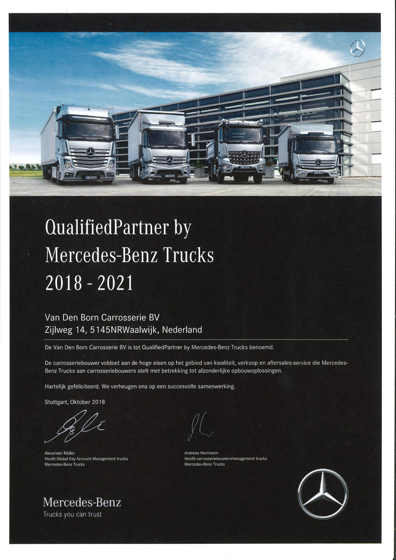qualifiedpartner mercedes-benz