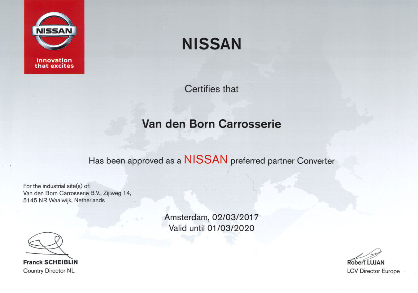 nissan preferred partner