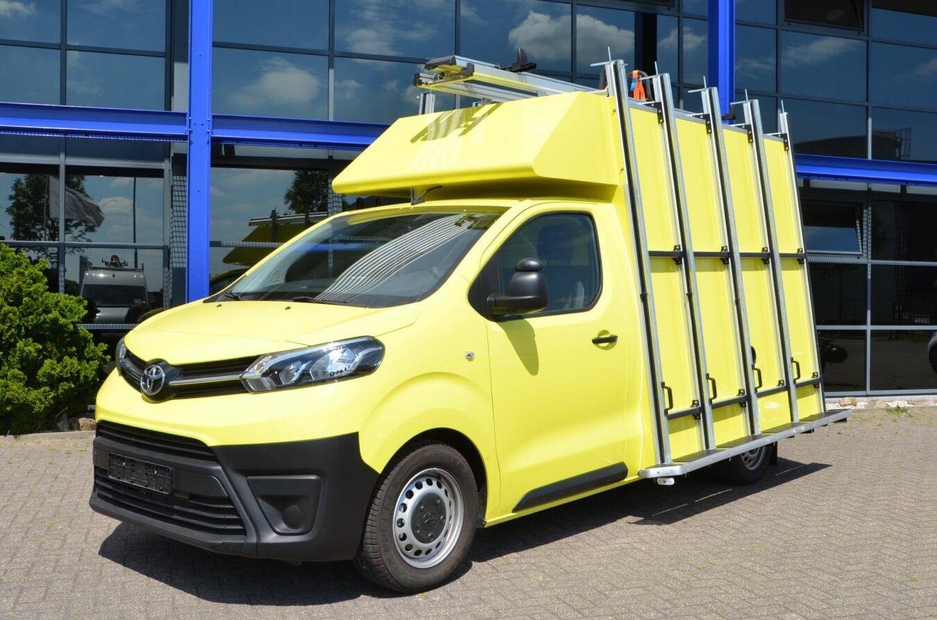 Toyota bedrijfswagens proace euroborn glasrasteel
