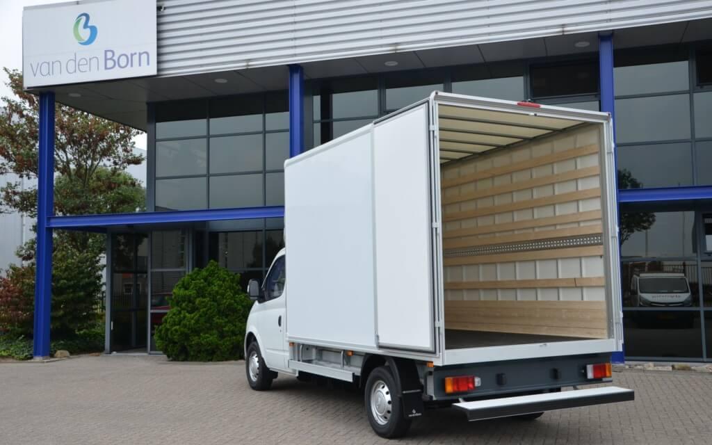 Maxus EV80 citybox opbouw