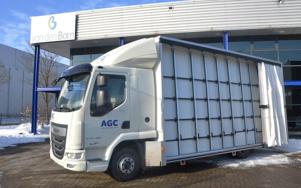 EUROBORN vrachtwagen voor AGC Nederland