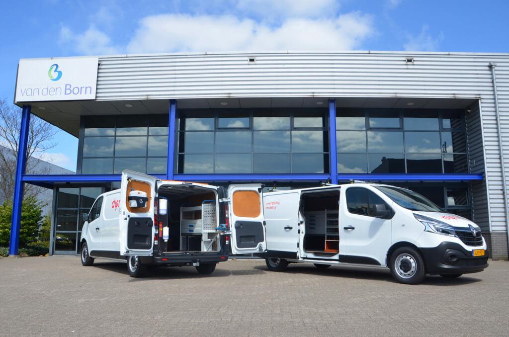Renault Trafic bedrijfswagens voor Dynniq